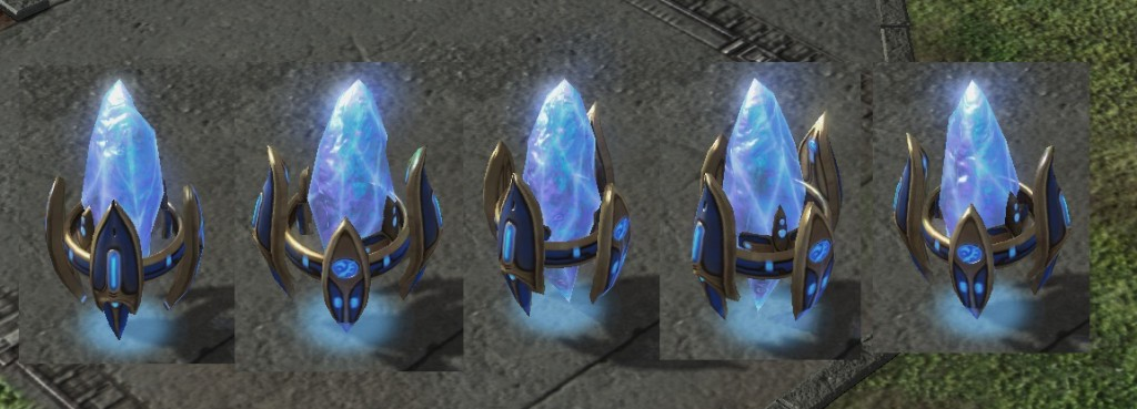 Protoss Pylon - Step 1