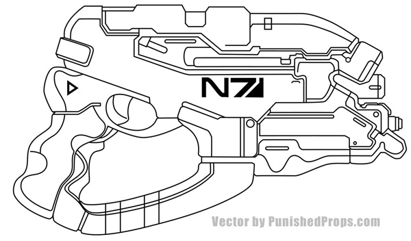mass effect 3 coloring pages - photo#37