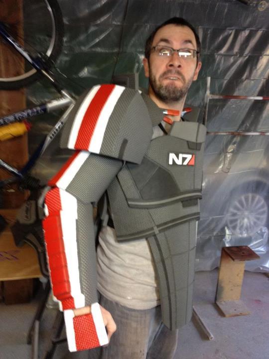 N7 Armor - Step 5