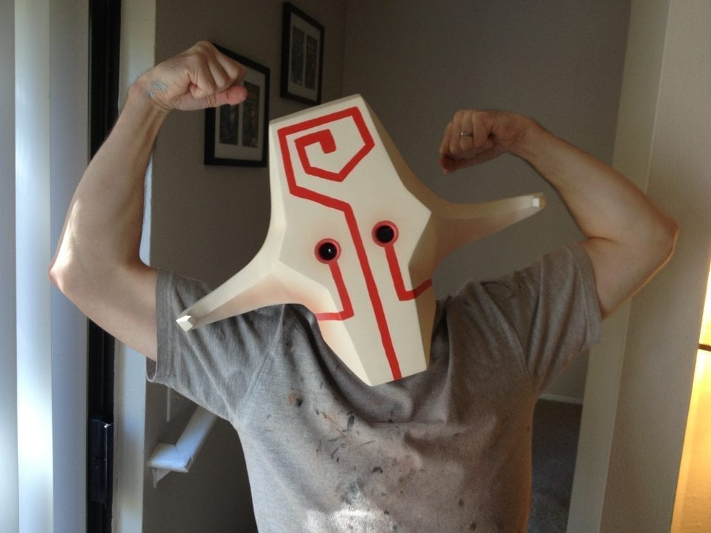 Juggernaut Mask - Finished