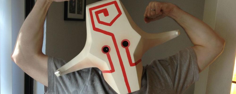 Juggernaut Dota 2 Cosplay DotA 2 - Juggernaut Mask prop
