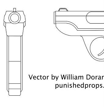 TF2 Pistol Blueprint Featured