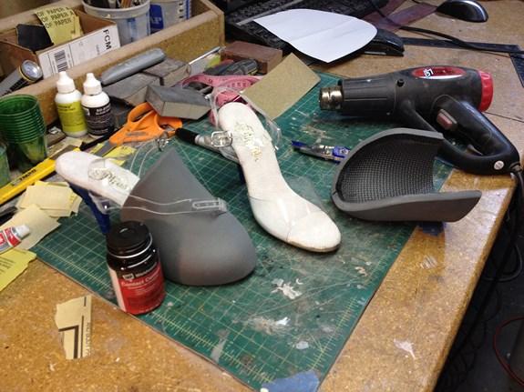 Long Fall Boots - Toe Parts