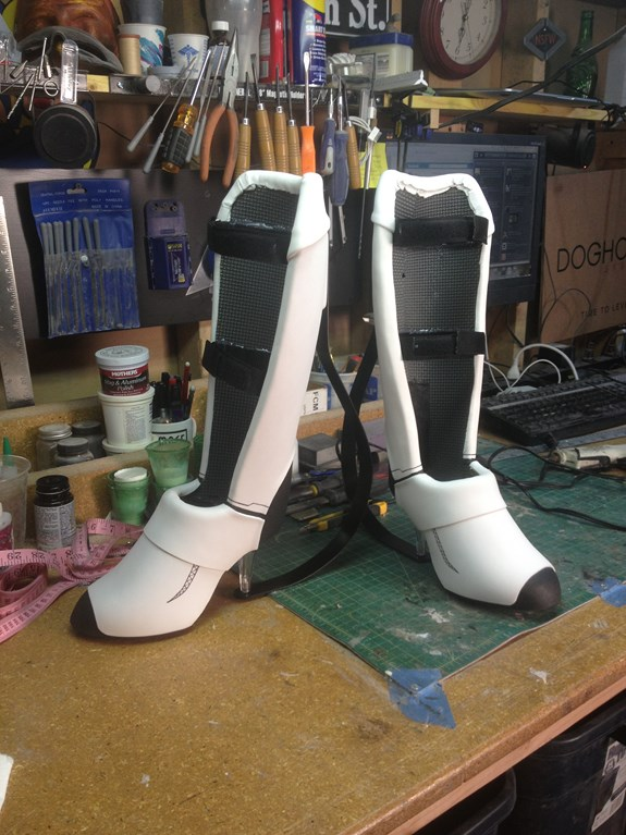 Chell Boots Finished