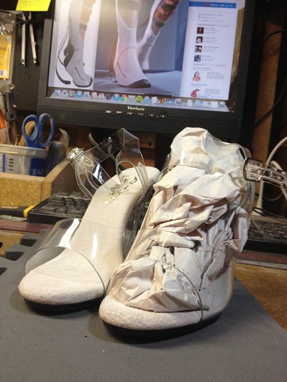 Long Fall Boots - Stripper Heels