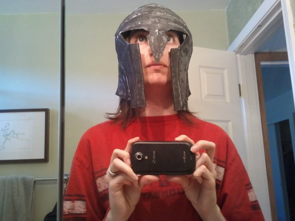 Draugr Helm Test Fit