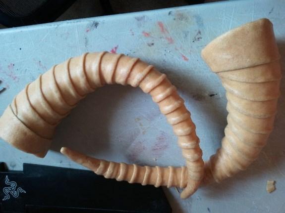 Draugr Horns Worbla