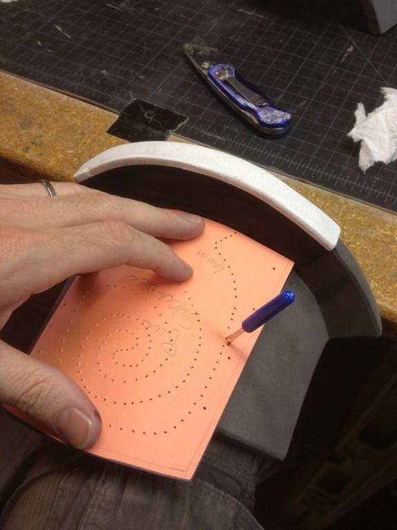 Draugr Shoulder Scroll Pattern