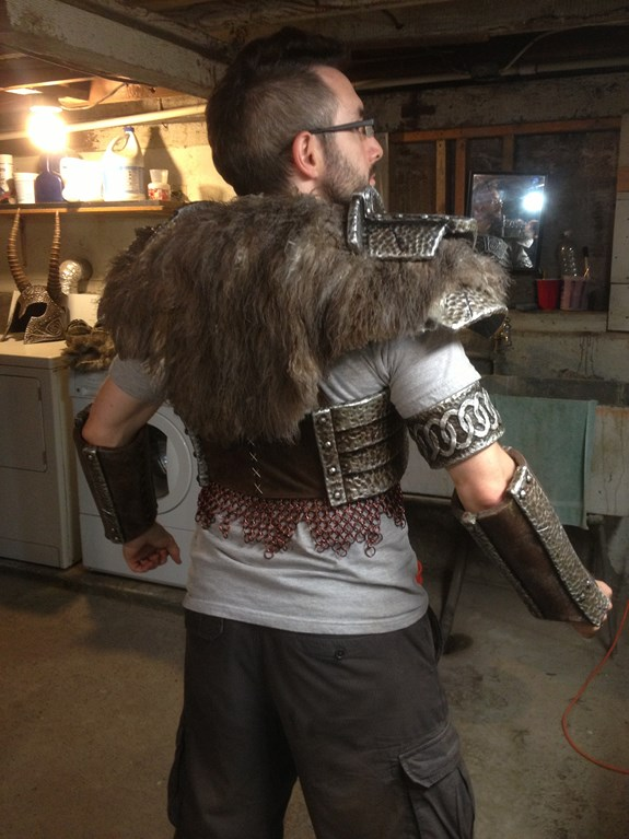 Draugr Chainmail Attached