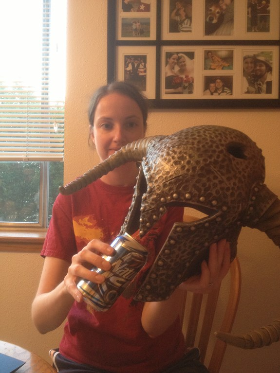 Draugr Helm Drink Test