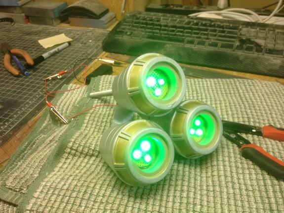 Caster Barrel LEDs