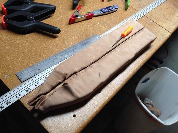 Nausicaa Scabbard Stitched