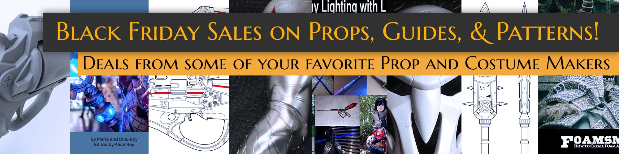 More amazing deals from some incredible prop & costume makers!
