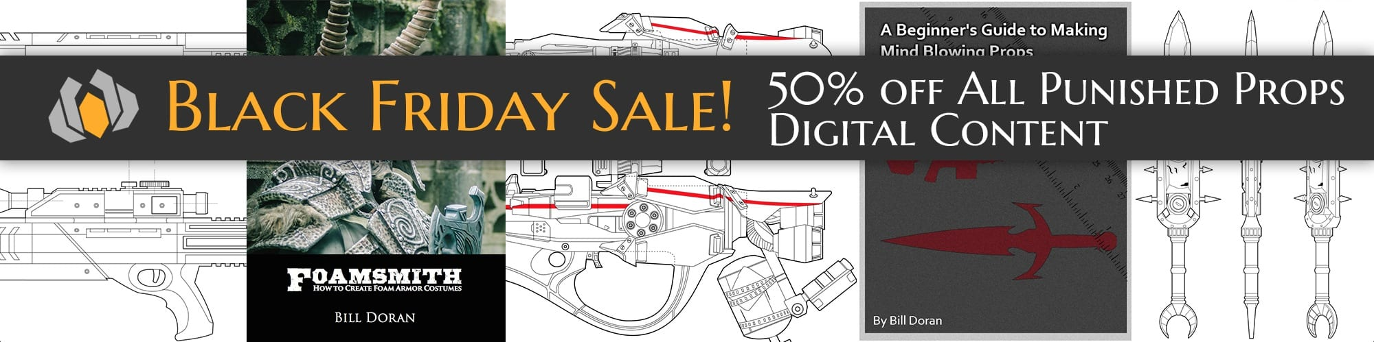 50% off all Punished Props digital products!
