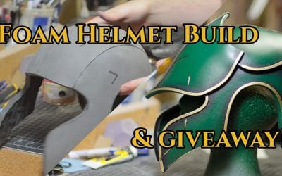 Prop: Shop – Foam Fabricated Helmet