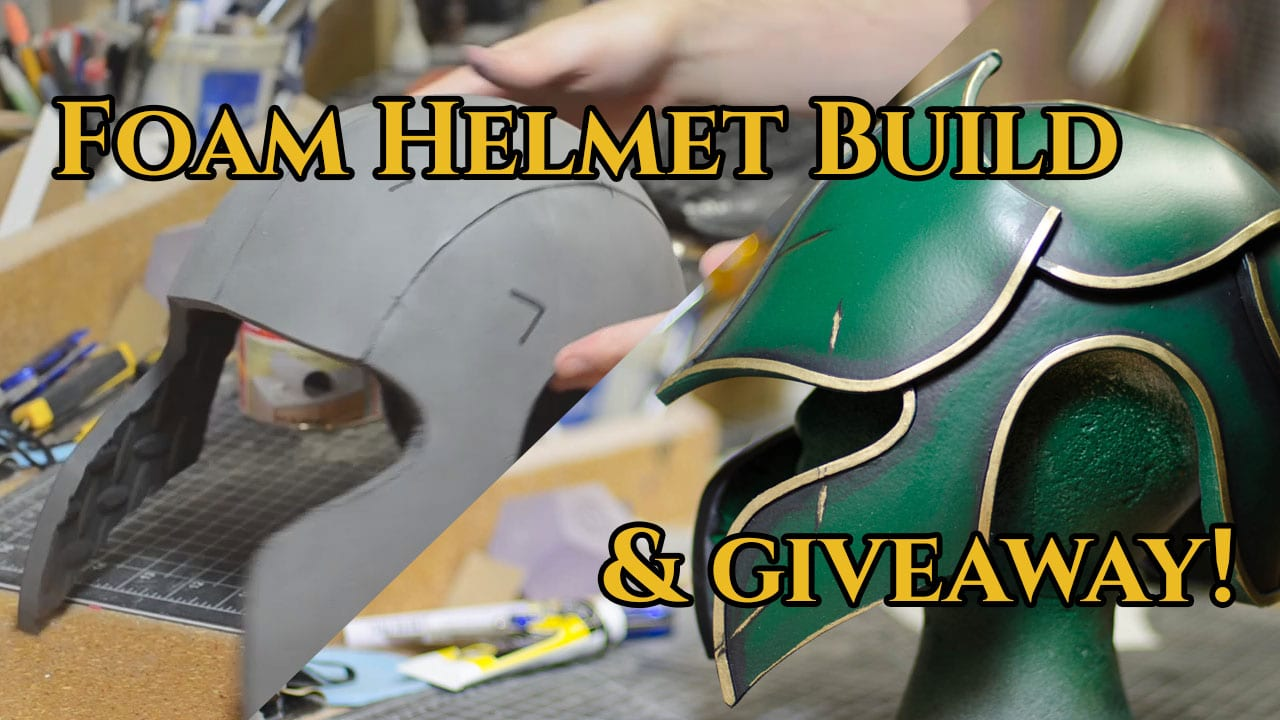 foam fabricated helmet tutorial punished props. Black Bedroom Furniture Sets. Home Design Ideas