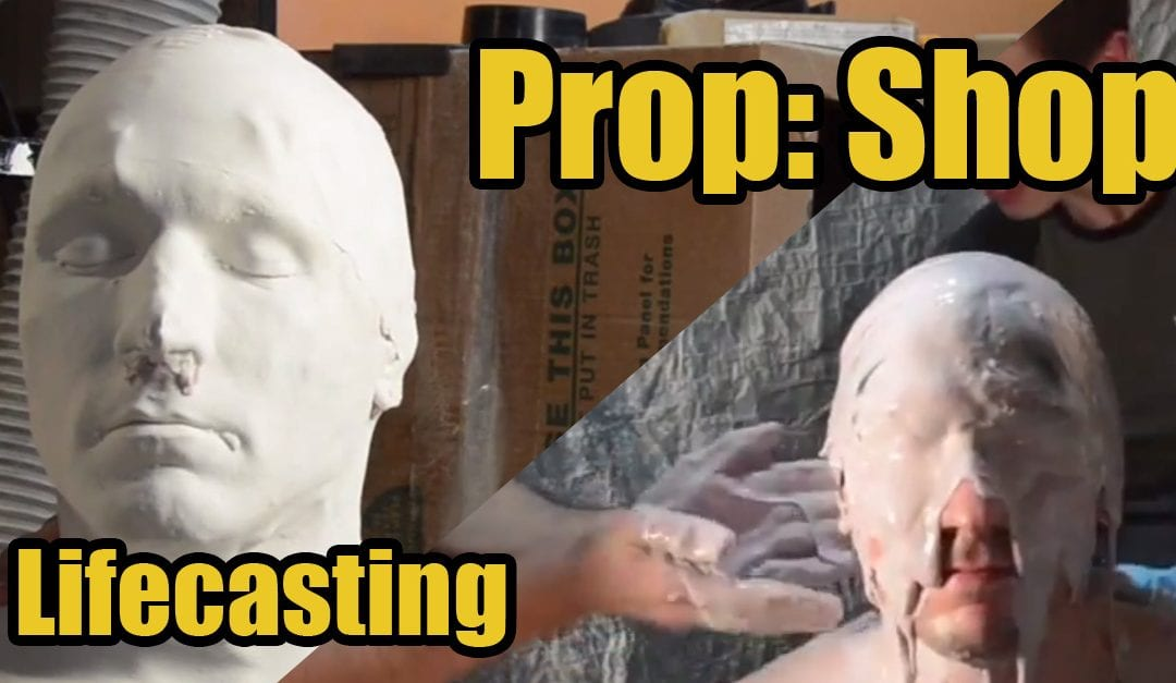 Prop: Shop – Creating a Life Cast Bust with Alginate