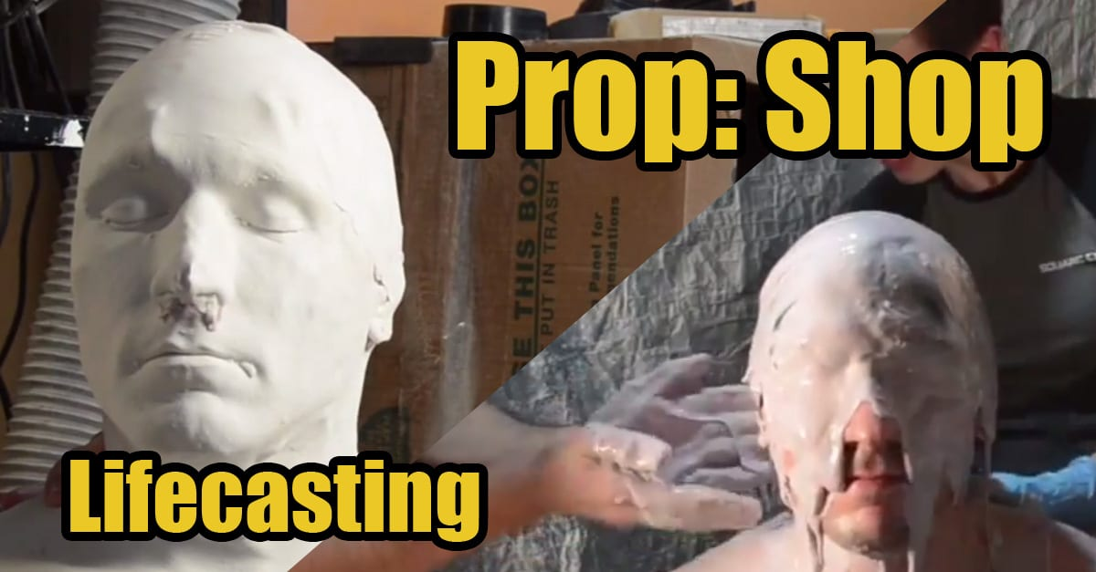 Lifecasting Alginate Video