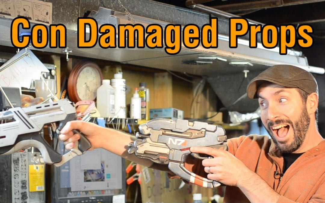 Prop: Shop – Touching Up Your Con Damaged Props