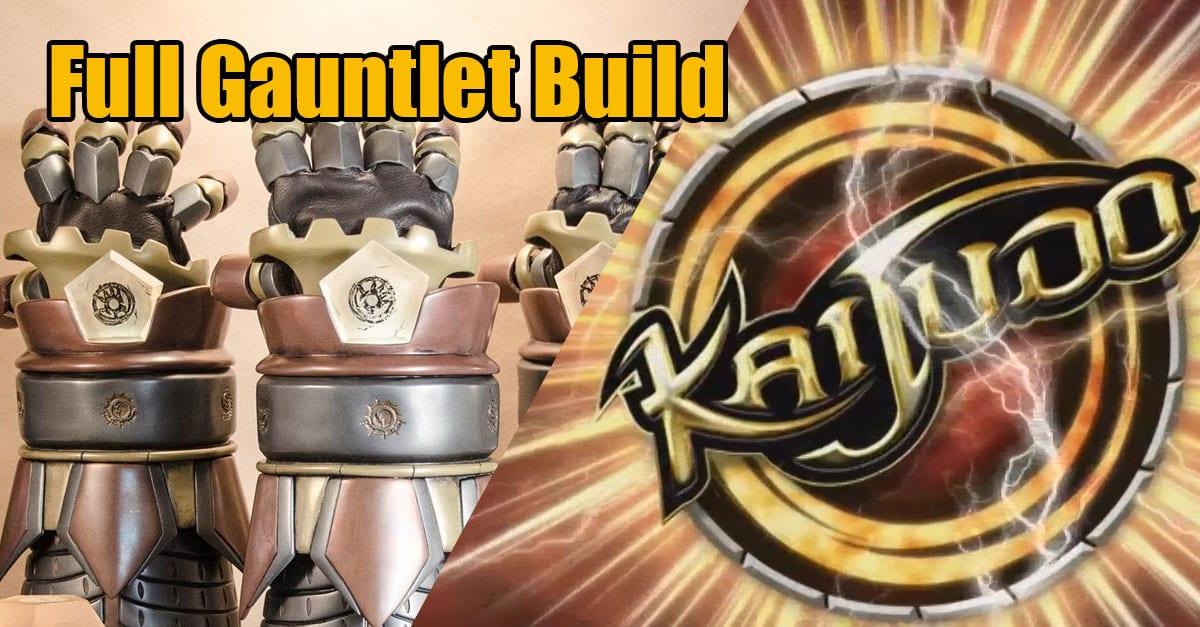 Kaijudo Gauntlet Trophy Build - Punished Props