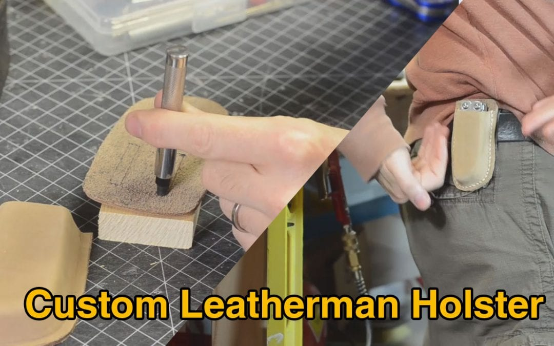 Prop: Shop – One Day Build – Leatherman Pouch