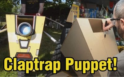 Prop: Shop – Borderlands Claptrap Puppet Build