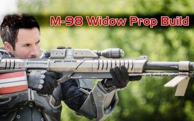 Prop: Shop – M-98 Widow Sniper Rifle Build