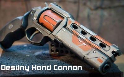 Prop: Shop – Destiny Hand Cannon Foam Prop