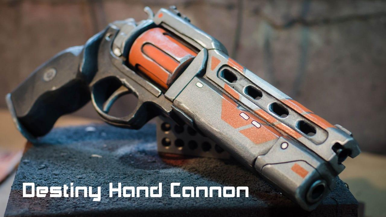 Destiny Hand Cannon Foam Prop Punished Props