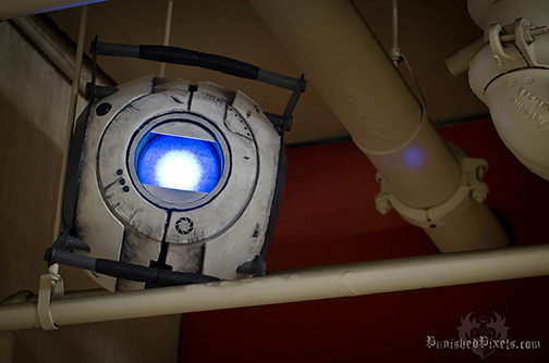 Wheatley from Portal 2 prop build - Punished Props