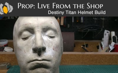 Prop: Live – Destiny Titan Helmet Build