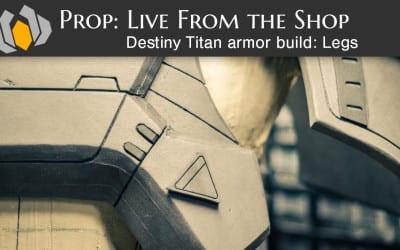 Prop: Live – Destiny Titan Foam Legs