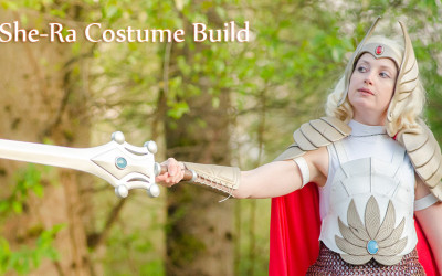 She-Ra Costume Build