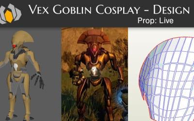 Prop: Live – Destiny Vex Goblin Cosplay – Design