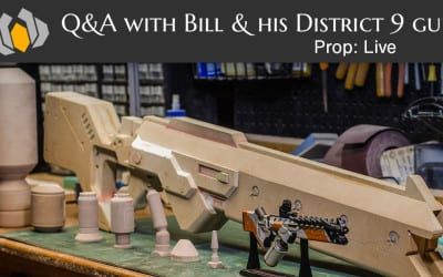 Prop: Live – Q&A with Bill and his District 9 Gun – 6/18/2015