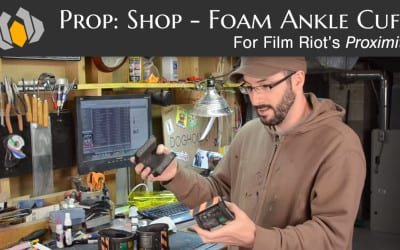 Prop: Shop – Proximity's Ankle Cuff Foam Fabrication Prop Build