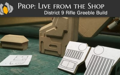 Prop: Live from the Shop – District 9 Rifle Greeble Build