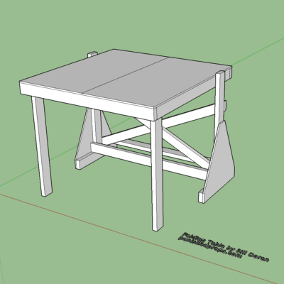 Blueprints archives punished props for Table design sketchup
