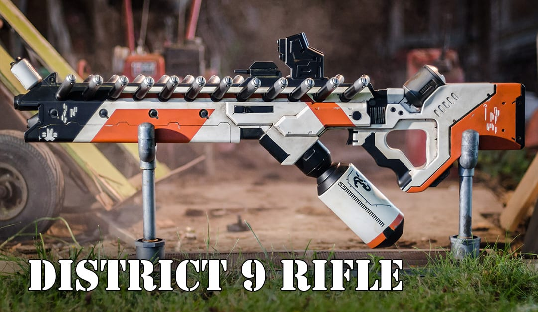 District 9 Replica Prop Rifle Build Punished Props