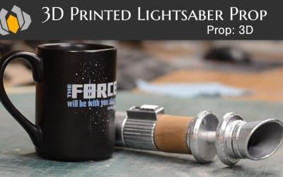Prop: 3D – Season 1, Episode 2: Lightsaber