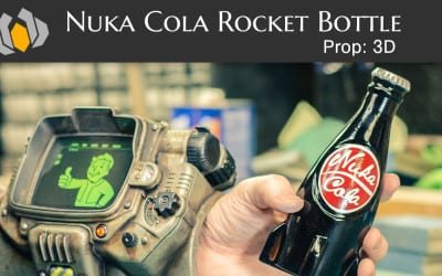 Prop: 3D – Season 1, Episode 3 – Nuka Cola Rocket Bottle