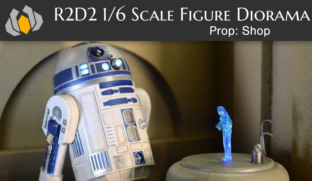 Prop: Shop – One Day Build – R2D2 1/6th Scale Figure Diorama