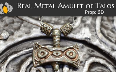 Prop: 3D – Season 1, Episode 5: Real Metal Amulet of Talos