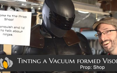 Prop: Shop – Vacuum Formed Visor Tinting