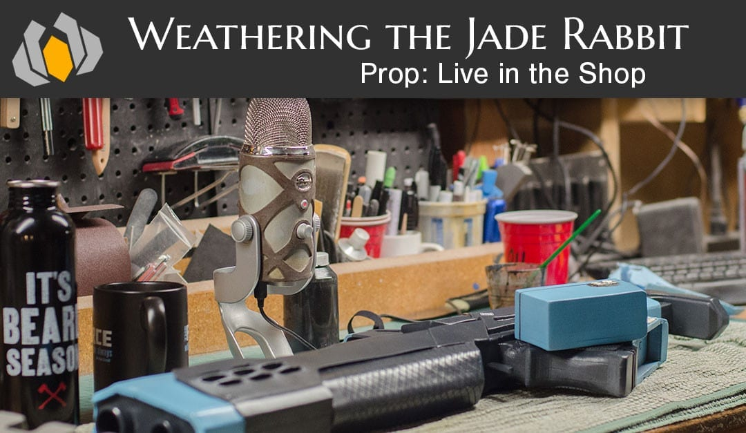 Prop: Live – In the Shop – Weathering the Jade Rabbit