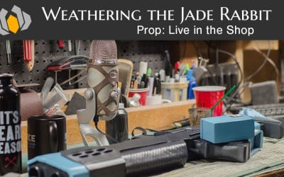 Prop: Live From The Shop – Weathering the Jade Rabbit
