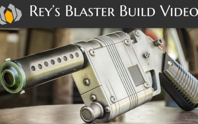 Prop: Shop – Rey's Blaster Build Video plus Free Blueprints!
