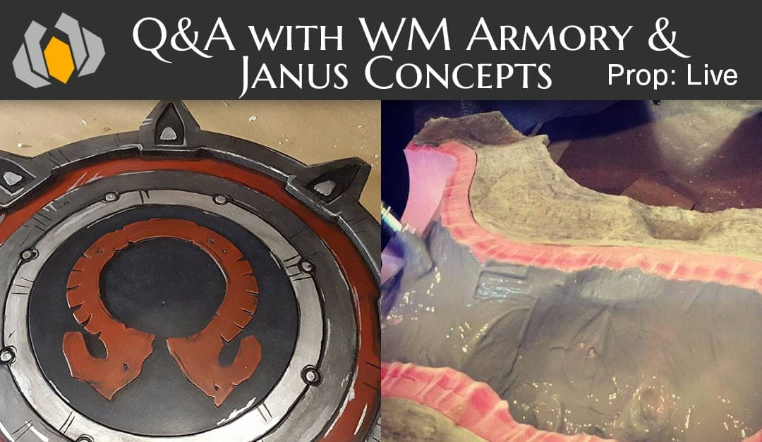 Prop: Live – Q&A with WM Armory and Janus Concepts – 2/4/2016
