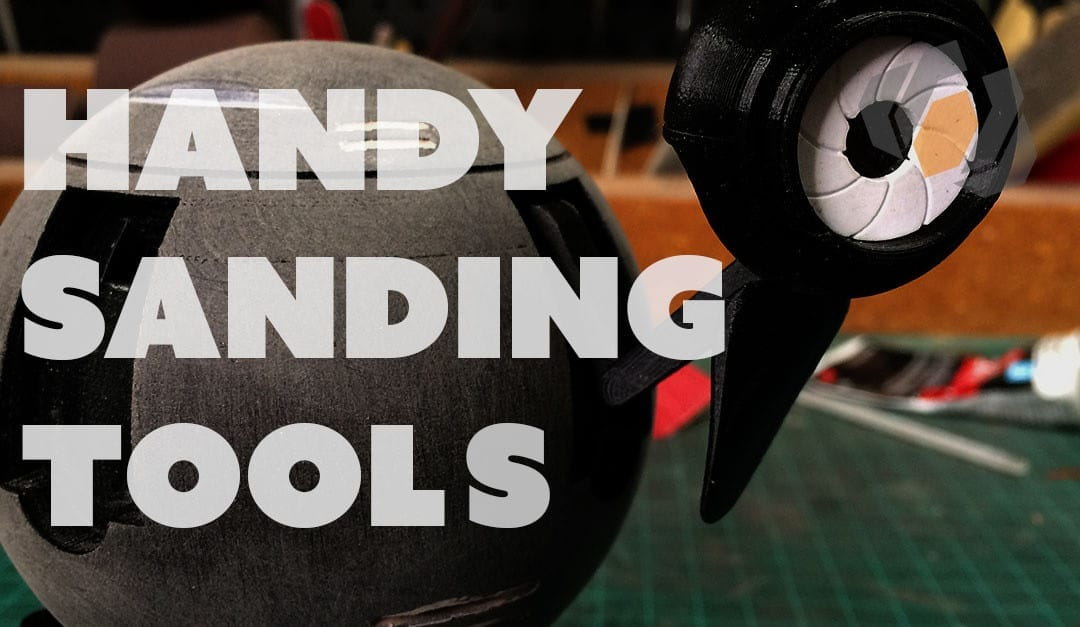 Prop: Live from the Shop – Sanding Tools for Small Models