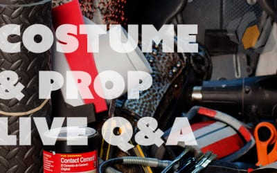 Prop: Live – Prop and Costume Q&A with Bill – 3/17/2016